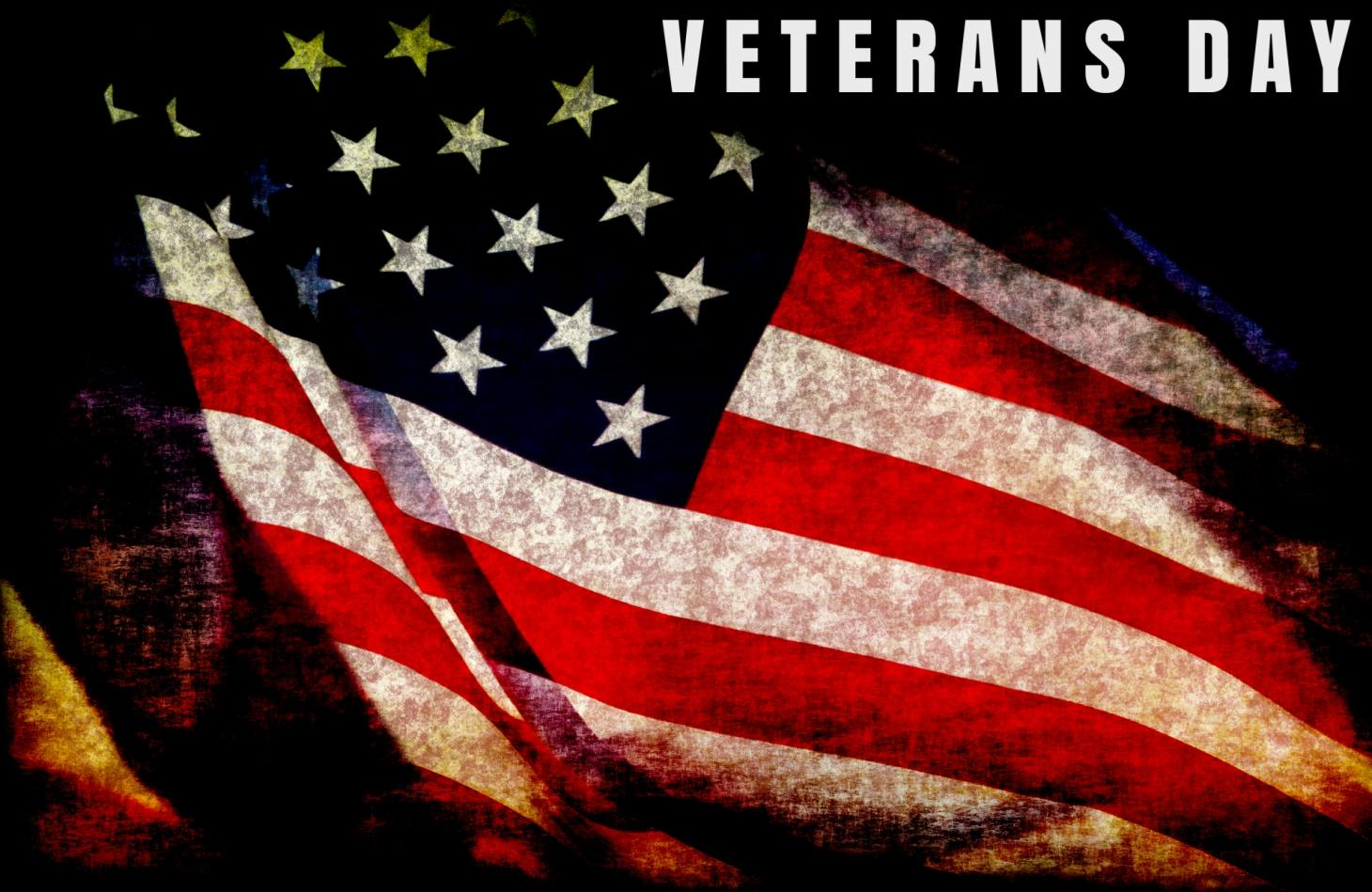 Veterans Day is Sunday