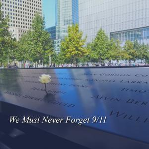We must never forget 9/11