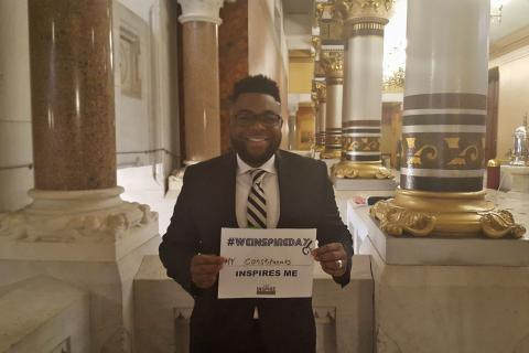Rep. McGee We Inspire Day