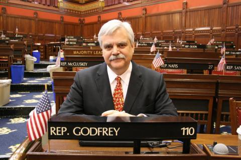 Rep. Godfrey appointed as Deputy Speaker Pro-Tempore
